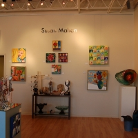 Solo show Heart of a Woman at Hayley Gallery-2010